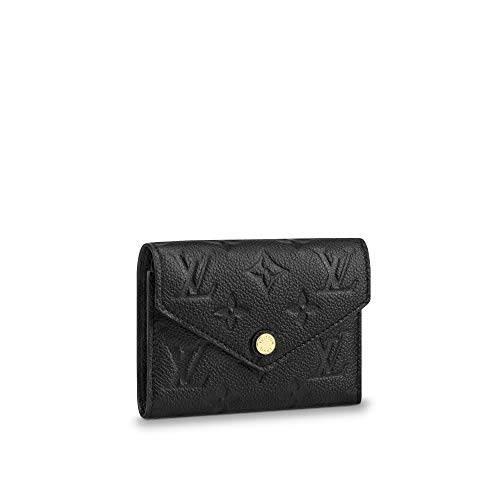 Retro Monogram Practical Compact Wallets Printed Canvas Leather Zipper Coin Purse Pocket for Women