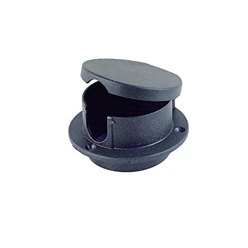 Perko 1057DP0BLK Rope Deck Pipe, Black (Pipe Rope Deck)