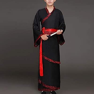 Tenthree Tradicional Chino Antiguo Hanfu - Hombre Ropa de ...