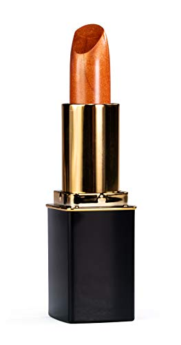 Frosted Coral - L'Paige L05 Frosted Copper Designer Lipstick, All-Natural, AloeVera, Long-lasting Moisturizing