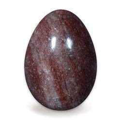 (Red Muscovite Mica Crystal Egg)