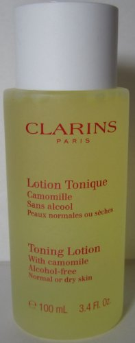 Clarins Toning Lotion Alcohol Free with Camomile Dry Norm...