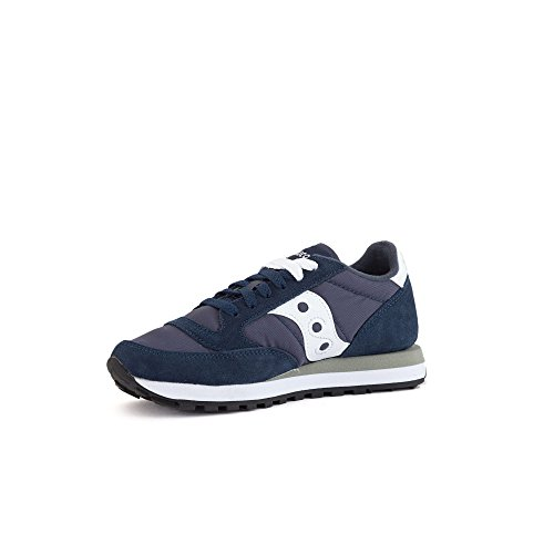Navy Chaussures White de Femme Original Saucony Jazz Cross aYOxv