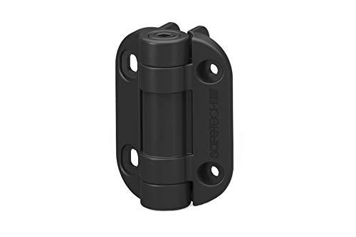 Pool Gate Hinges - Safetech TopKlik Self Closing Gate Hinge (SHG-90L) (Black)