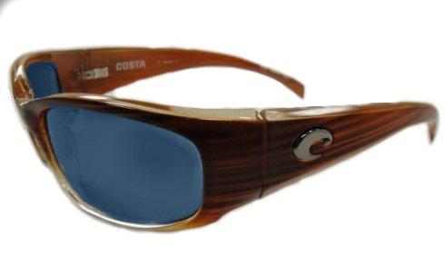 25f48a53ae8 Costa Del Mar Sunglasses - Hammerhead- Glass   Frame  Wood Fade Lens   Polarized Blue Mirror Wave 400 Glass