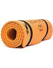 Bootymats - Colchoneta Fitness Multifunción para Todo Tipo de Entrenamiento: Fitness, Pilates, Abdominales, Estiramientos. Medidas: 160 x 60 cm. Grosor: 9 mm.