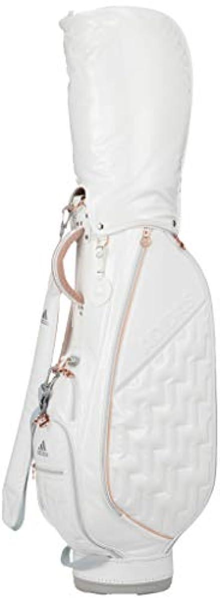 [해외] [아디다스 골프] women's 에나멜 캐디백 HFF87 화이트 ONE SIZE