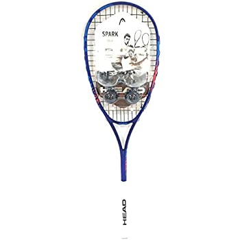 HEAD Spark Elite Pack Squash Racquet Kit (Racquet, Eyeguards, 2-Balls)