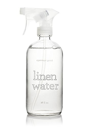 Common Good Linen Water, Glass Bottle, Lavender Scent, 16 oz