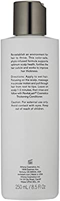 RevitaLash Cosmetics, Thickening Shampoo - Scalp Therapy Formula, Hypoallergenic & Cruelty Free