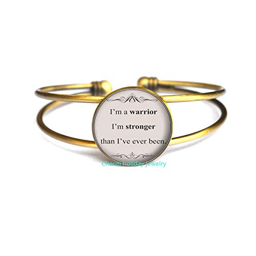 Song Lyric Jewelry-Demi Lovato Song Lyrics Quote Bangle-Inspirational Music Bracelet-Motivational Jewelry Gift for -