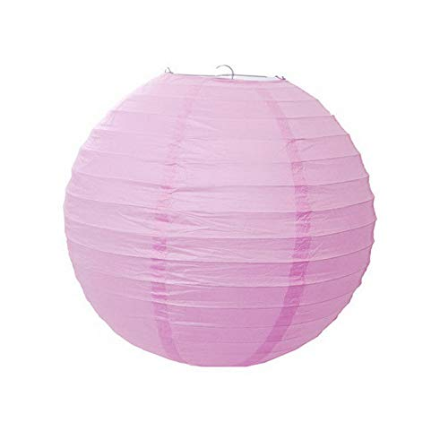 Mikash 5 Pack of 8 10 12 14 16 Paper Lantern Chinese Decoration Wedding Party | Model WDDNGDCRTN - 23095 | 12]()