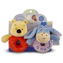 Kids Preferred Loop Rattles, Winnie the Pooh and Friends by Kids Preferred