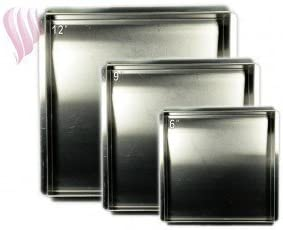 Square Cake Pan Set 6 -9 -12