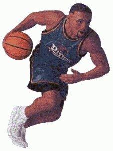 Hallmark 1998 Ornament Grant Hill Hoop Stars # 4 Series