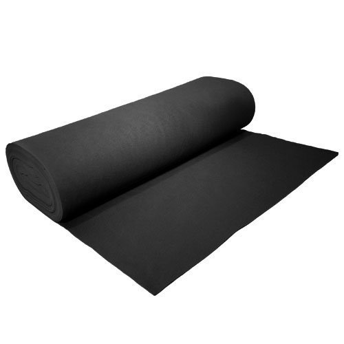 Black Acrylic Felt - 72