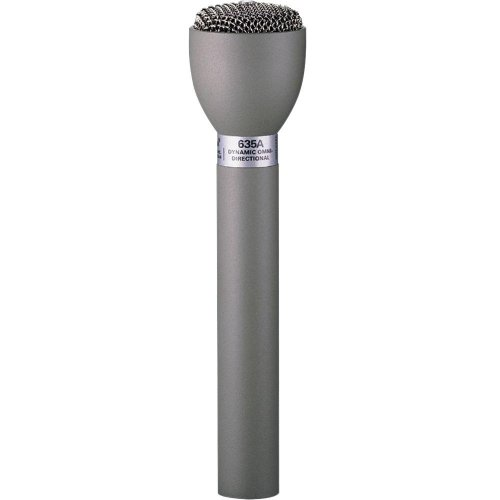 Electro-Voice Classic Handheld Live Interview Microphone 635A | Completely Pop-free Omnidirectional Dynamic Mic Fawn Beige by Electro-Voice