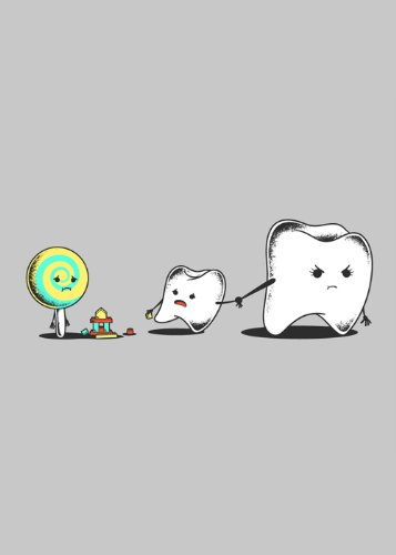 funny-humor-tooth-sucker-lolipop-candy-bad-friend-dental-hygiene-parody-rectangle-refrigerator-magne