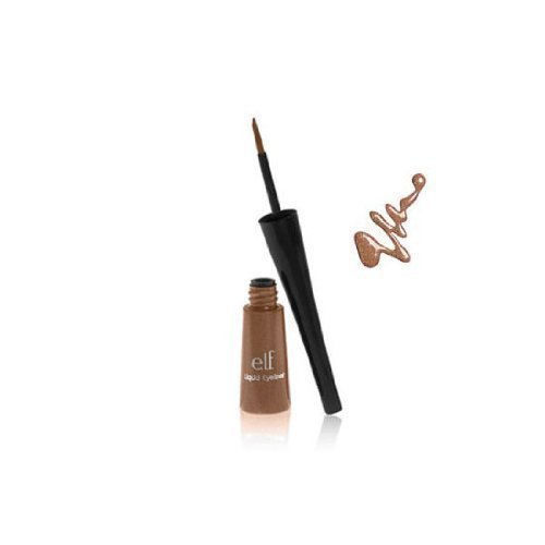 e.l.f. Essential Liquid Eyeliner COFFEE Eye Liner Elf Makeup Professional Sexy