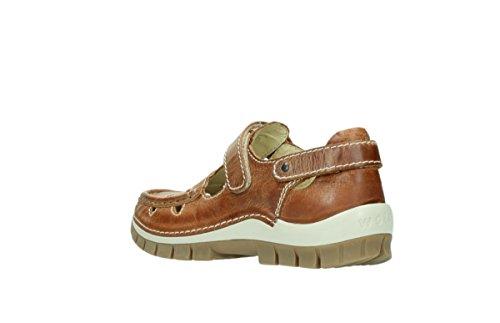 04752 movimento Leather Comfort 343 Wolky Cognac 4qFYE