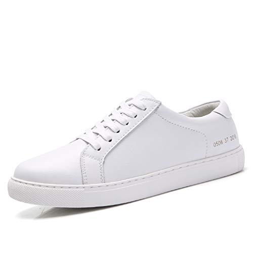 Chaussures Chaussures d'automne de Lacet Blanc Sport de Femme Baskets 0506 de de de rwqRrt