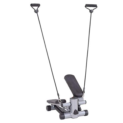 Goplus Mini Stepper Air Climber Step Fitness Exercise Machine with Resistance Band and LCD Display by Goplus (Image #7)
