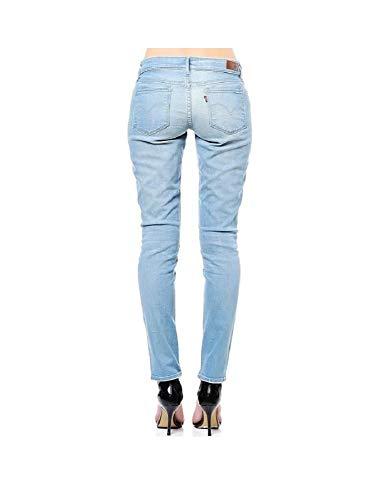 Bleached Skinny High Curve Levi's Jean Demi Rise qw6UTYXT