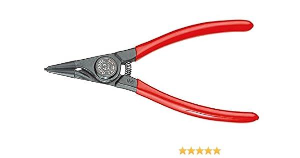 Gedore 8000 A 1 - Alicate de puntas para arandelas exteriores, recta, 10-25 mm: Amazon.es: Bricolaje y herramientas