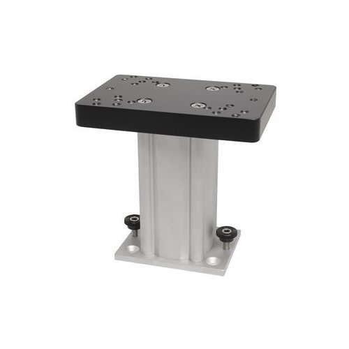 - Cannon 4-Inch Aluminum Fixed Base Pedestal Mount