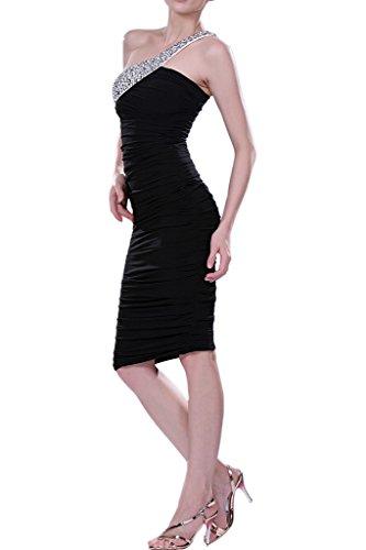 Cocktail Dress Length Grape Knee Charmeuse Sheath Dress Avril Shoulder One Homecoming vdqXwtEtn