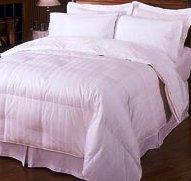 Stripe Goose Down Egyptian cotton King-CalKing comforter