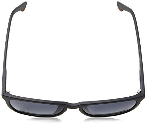 Matt Negro para 6 55 Semi Track de Police Hombre Gafas Sol Black 50zwPXq