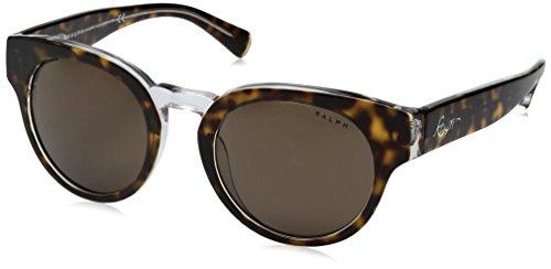 Ralph Lauren Sunglasses Women's 0ra5227 Round, Tortoise Crystal, 50 ()