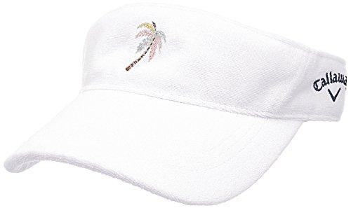ジェット兵器庫ええ(キャロウェイ アパレル) Callaway Apparel [ レディース] パイル サンバイザー (サイズ調整) / 241-8184808 / 帽子 ゴルフ