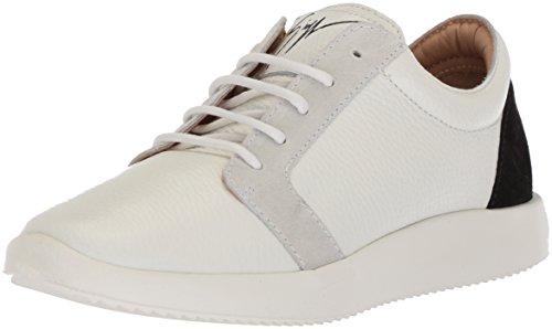 Giuseppe Zanotti Femme Rs80078 Baskets Blanc / Noir