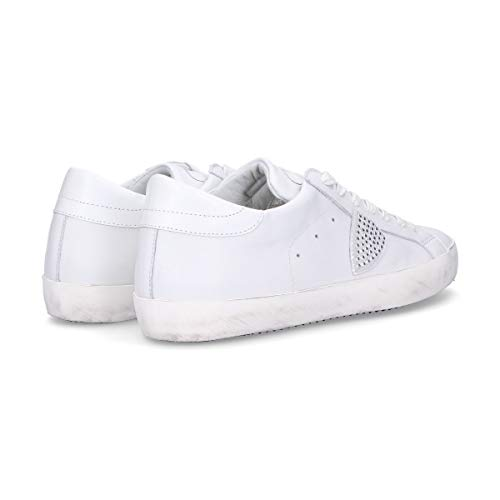 Model Pelle Sneakers Bianco Philippe Uomo Cllusd02 BaKTKAcp