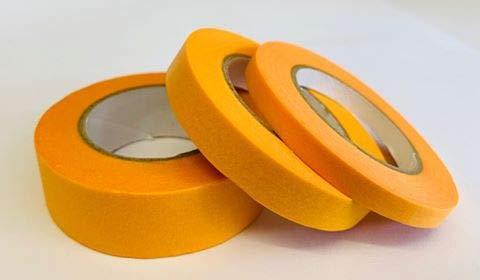 1 Rollo de Cada uno 18 mm, 10 mm y 6 mm Cinta de carrocero x 18 m Cada uno sin /ácidos Model Craft