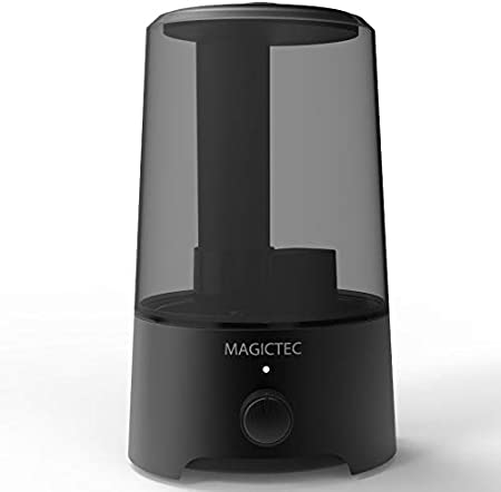 Magictec Cool Mist Humidifier, 2.5L Bedroom Essential Humidifier Diffuser, Baby Humidifier with Adjustable Mist Output, Auto Shut Off, Super Quiet