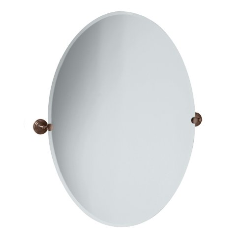 Gatco 4920 Marina Oval Wall Mirror, -