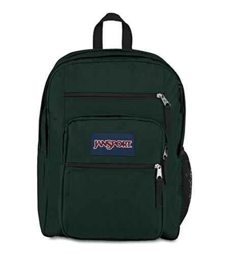 JanSport TDN7 Big Student Backpack (AGRN/Pine Grove) (Green Jansport Backpack)