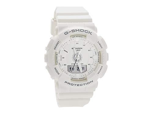 Reloj Casio G-Shock de Mujer multifunción Digital, en Blanco, Ref. GMA-S130-7AER.: Amazon.es: Relojes