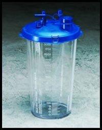 Cardinal Health Medi-Vac 65651-220 Guardian Suction Canisters, 2000cc Size (Case of (Medi Vac Suction Canister)