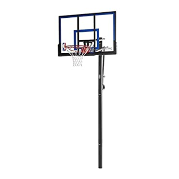 Spalding NBA In-Ground Basketball System 50 Acrylic Backboard