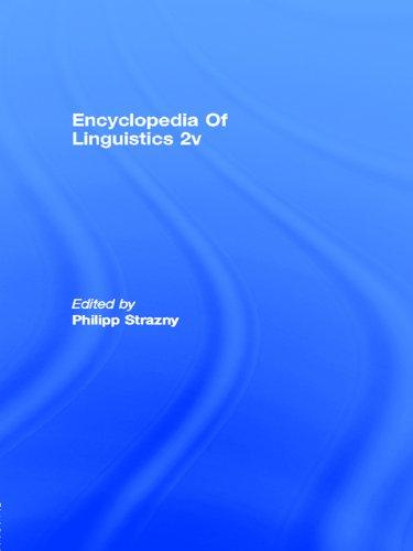 Download Encyclopedia of Linguistics Pdf