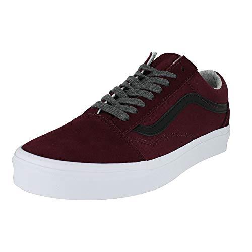 Vans Mens Old Skool Jersey LACE Port Royale Black Size 8]()