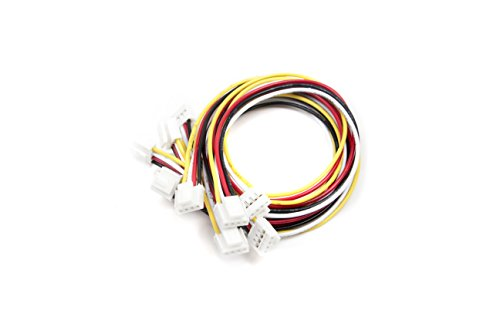Seeedstudio Grove - Universal 4 Pin Buckled 20cm Cable (5 PCs pack) from Others