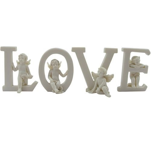 Cherub Letters Love 4 Piece