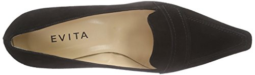 cheap geniue stockist Evita Shoes Women's Pump Closed Toe Heels Black (Schwarz 10) buy cheap classic discount supply free shipping new RjCf9aK