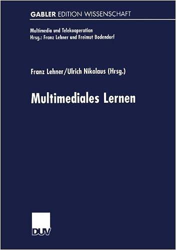 Book Multimediales Lernen (Multimedia und Telekooperation)
