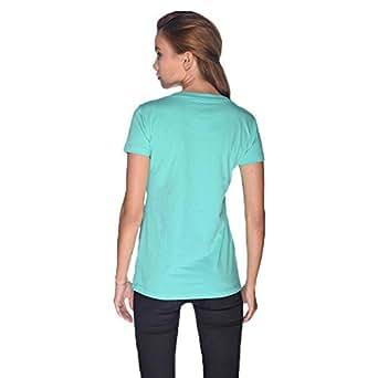Creo Bikers Born To Ride T-Shirt For Women - S, Green
